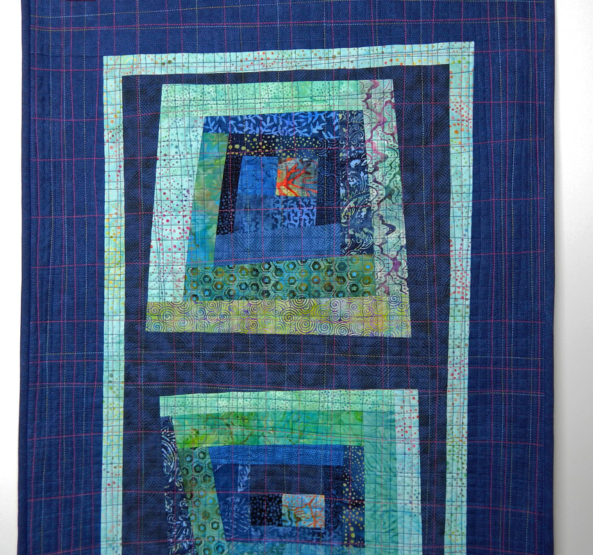 handmade quilted wall hanging